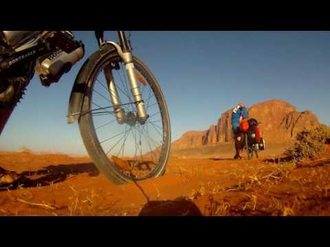 """Trailer """"Wildnis, Wueste & Kultur"""" - mit dem Fahrrad nach Asien und Afrika"""