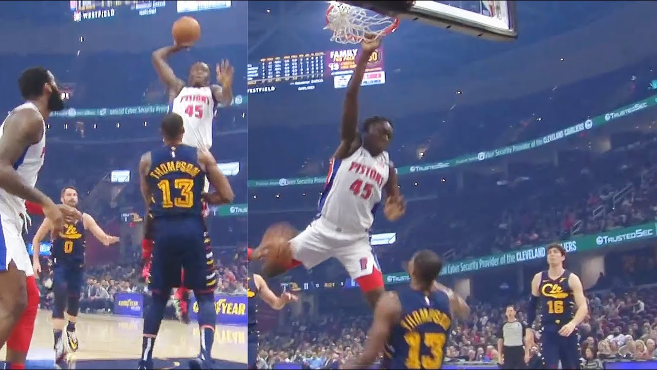 Tristan Thompson Gets His Career Ended & Murdered By 19 Year Old Sekou's Dunk! Cavaliers vs