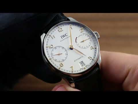 IWC Portugieser Automatic IW5007-04 Functions And Care