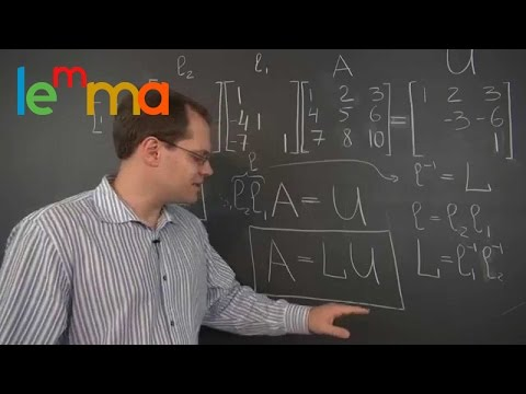 Linear Algebra 13e: The LU Decomposition