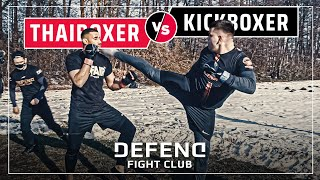 African TIGER vs. German LION | MMA Streetfight | DFC