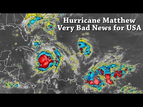 Alert! Danger! Catastrophic  Hurricane Matthew is headed to Florida & USA East Coast. Prepare NOW