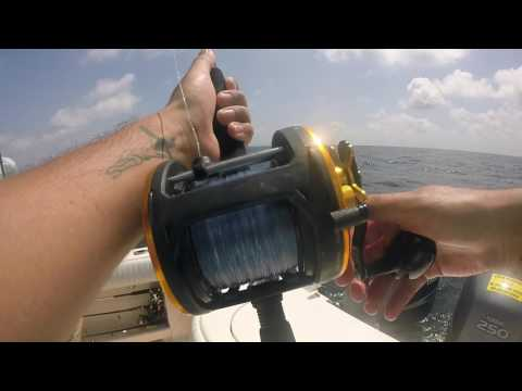 Offshore Fishing Galveston,TX. 07/02/2017