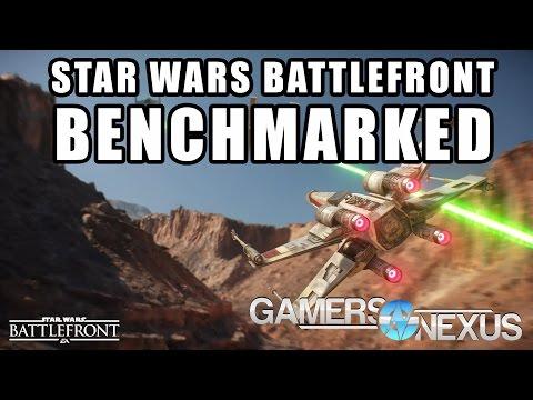 Star Wars Battlefront PC Graphics Card Benchmark - 1080, 1440, 4K