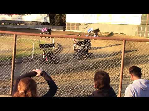 Deming Speedway - Micro 600R Heat Race - May 11, 2018