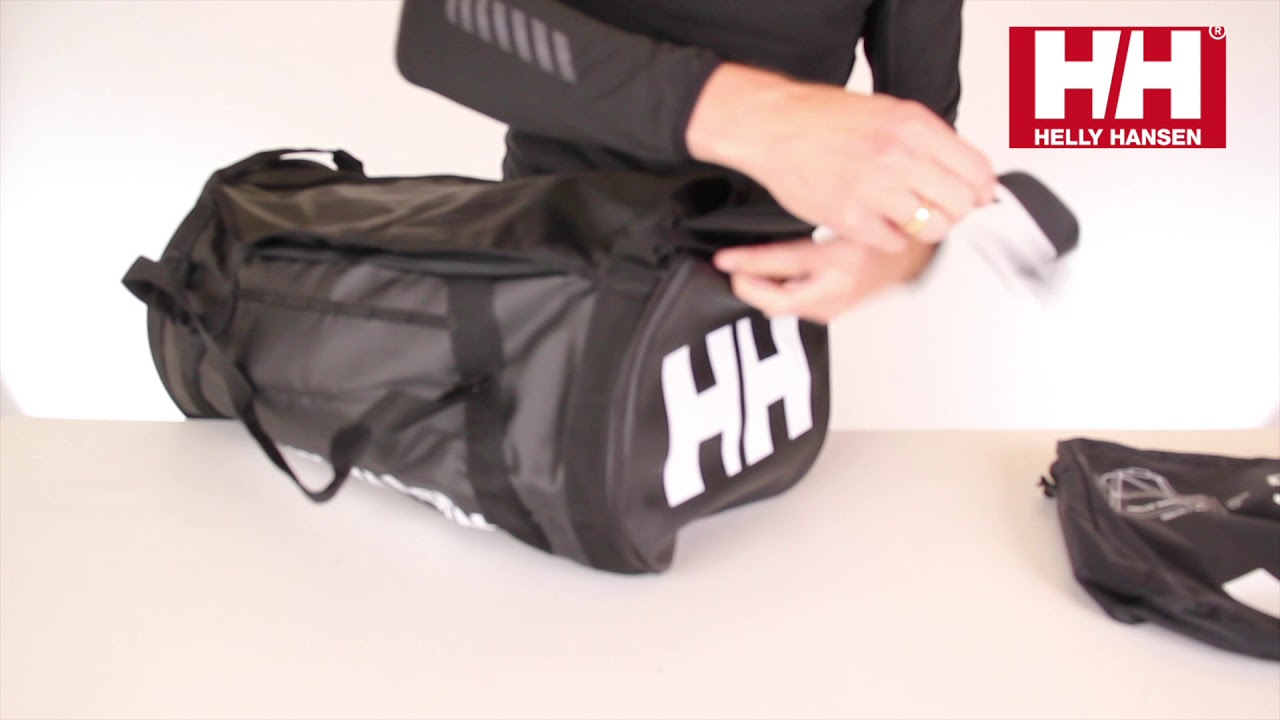e2b71a6124f Helly Hansen Duffel Bag 2 50L - Full Product Presentation   Demonstration