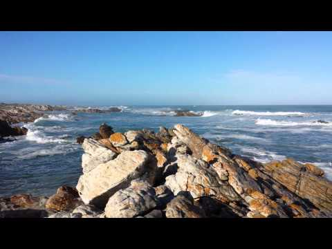 Cape Agulhas South Africa where the Atlantic and Indian Oceans meet