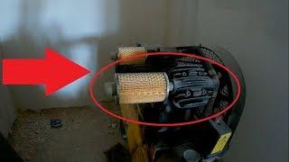 Воздушный фильтр для компрессора купить было бы слишком просто. Своими руками.