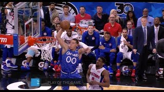 Aaron Gordon Pays Homage to Karl Malone with Mailman Dunk Mid-Game