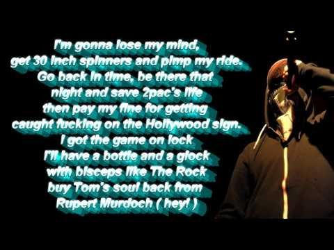 Hollywood Undead  Bottle and a Gun Lyrics FULL HD