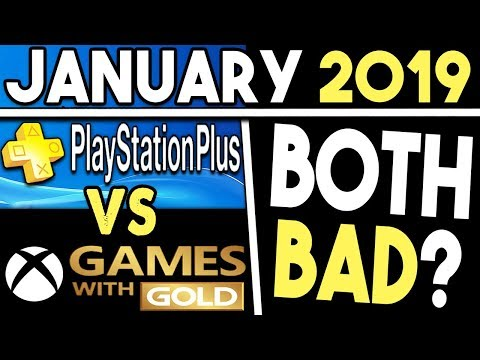 PS+ VS Xbox Games With Gold (January 2019 Free Games)