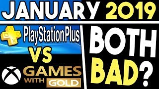 Ps  Vs Xbox Games With Gold (january 2019 Free Games)