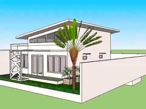 desain rumah 15 x 25 ada kolam renang nya . - youtube