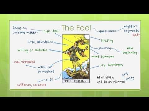 Reading Tarot Cards - Major 0: The Fool