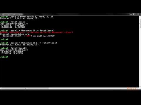 Julia Solutions : Basic Concepts of Parallel Computing | packtpub.com