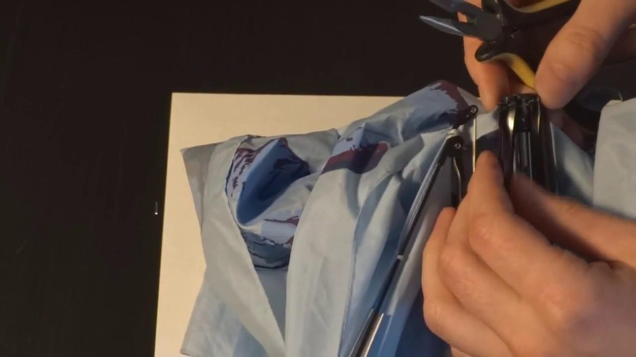 Ремонт зонтов полуавтомата своими руками