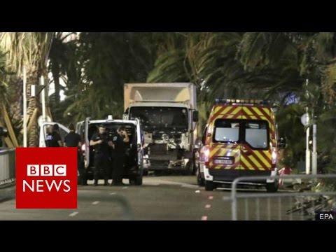 Attack in Nice: He 'started to shoot through the window' BBC News