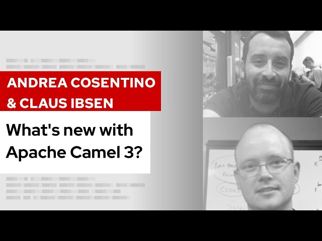 What's new with Apache Camel 3? | DevNation Tech Talk