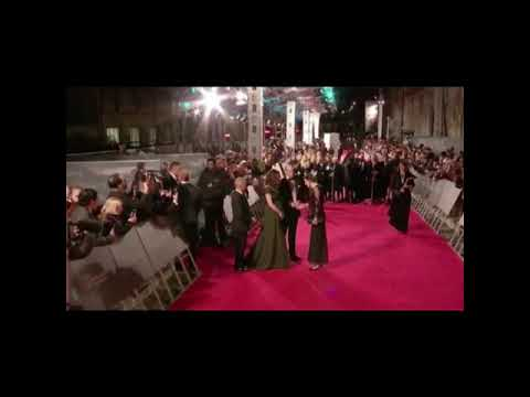 Prince William and Kate Middleton at BAFTA 2018