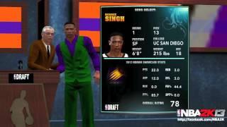 NBA 2K13 Update: MyCAREER Screenshot - feat. #1 Overall Draft Pick, 78 OVERALL!?!?!