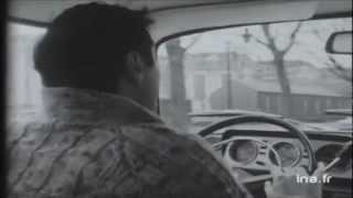 Taxi parisien en 1970