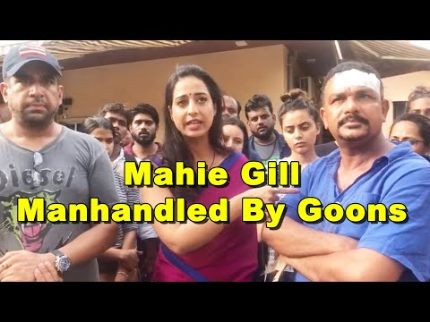 Attack On Actress Mahie Gill | Mahie Gill, FIXER Crew Hit By Goons