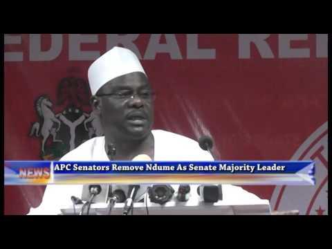 APC Senators removed Ali Ndume as Senate Majority Leader
