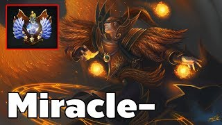 Miracle- Invoker Rank 2 World Dota2