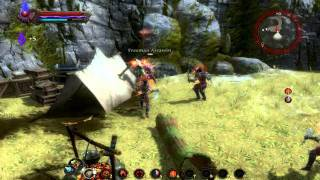 Kingdoms of Amalur: Reckoning - Pure Might, combat and combos