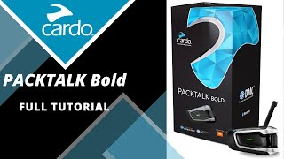Cardo PACKTALK Bold: Complete Tutorial