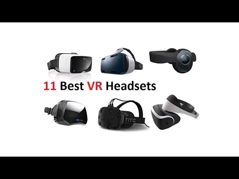 11 BEST VR Headsets!