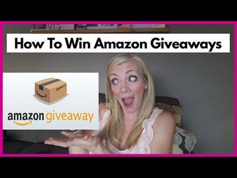 How to win Amazon Giveaways { Amazon Bouncy Boxes }