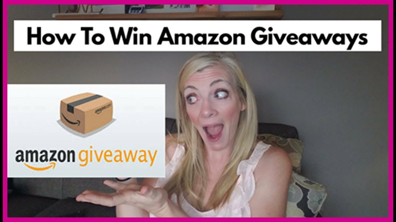 How to win in the amazon giveaways