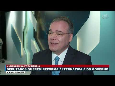 Deputados querem reforma alternativa a do governo