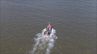 Phantom 4 with dbs antenna fleetwood trawler