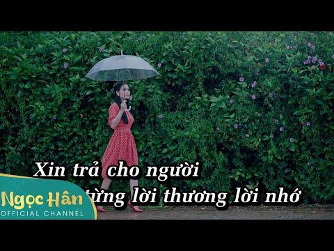 Karaoke Xin Trả Cho Anh Beat Chuẩn  || Ngọc Hân Official