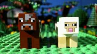 Lego Minecraft: The Bread (Lego stop-motion animation / brickfilm)