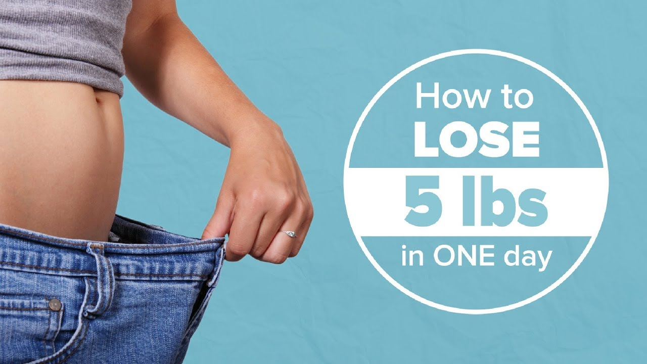 How to Lose 5 Pounds in One Day (Weight Loss Tips) | Joanna Soh