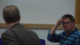 Science meets Fiction with Adam Roberts and Stewart Boogert - Royal Holloway Part 2