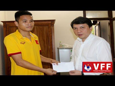 VFF thăm hỏi tuyển thủ Lê Văn Thắng