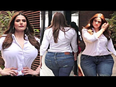 Hate Story 3 Actress Zareen Khan H0T Looks In Tight Shirt And Jeans thumbnail
