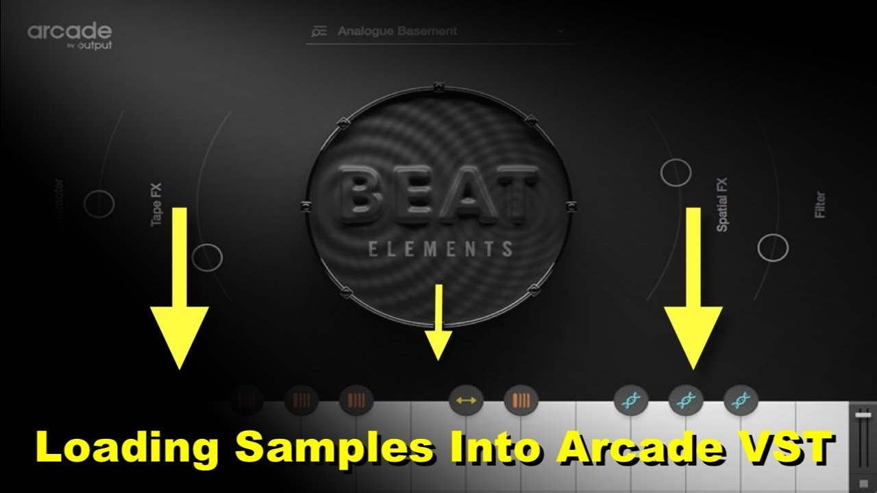 Loading your own samples into Output's Arcade Vst Plugin | Arcade loop  synthesizer