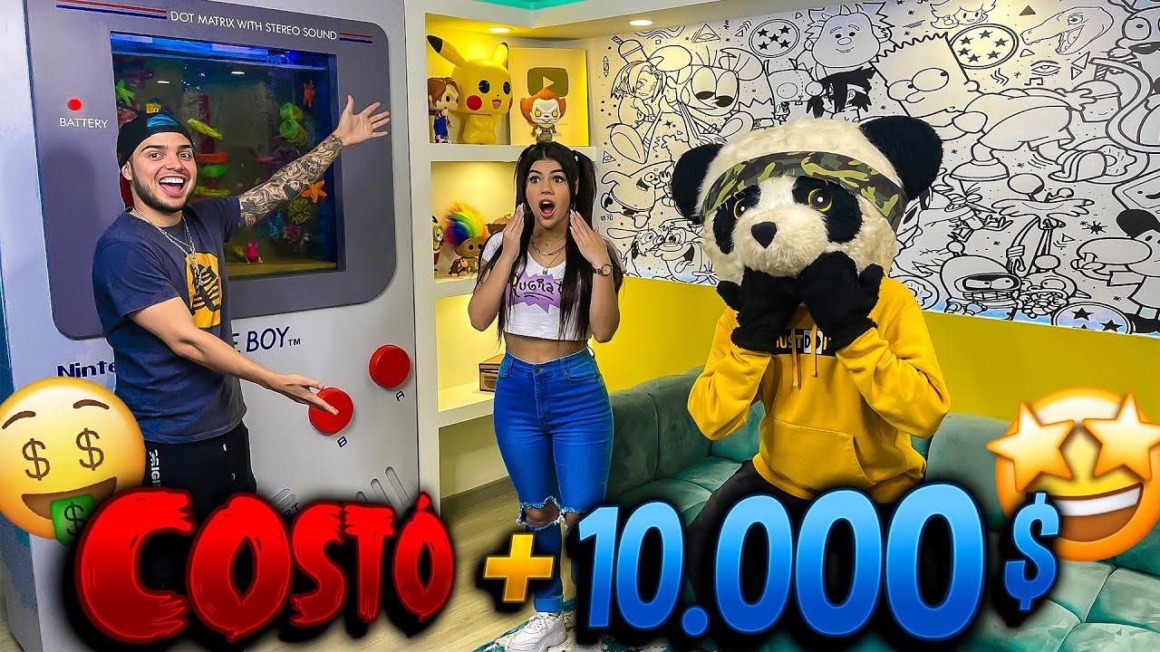 YOLO AVENTURAS REACCIONA A NUESTRA CASA DE 10,000$ - CRACKS (FREE FIRE)