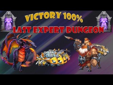 Last Expert Dungeon 3 Stars [Castle Clash]
