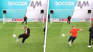 Can Luton Town fans break the Soccer AM Volley Challenge record?!
