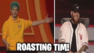 Ninja ROASTING Timthetatman and Drlupo at Twitch Con