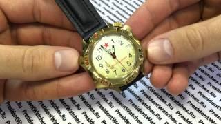 539707 - Video sharh soat Sharqiy PresidentWatches.Ru dan Generallar Vostok Komandirskie
