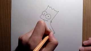 9th drawing: Baby Bart Simpson (Simpsons) [HD]
