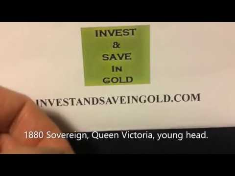1880 Sovereign Victoria Young Head   Purchased at a very favourable price ! Medium