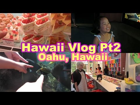 Hawaii Vlog Pt2 (2/2) :: Aquarium and Shopping!